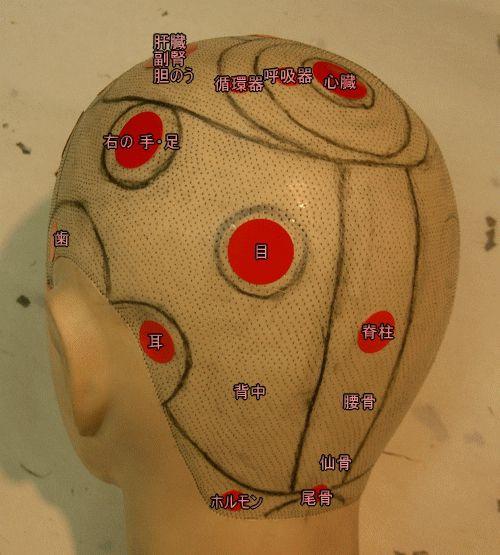 頭のツボ3